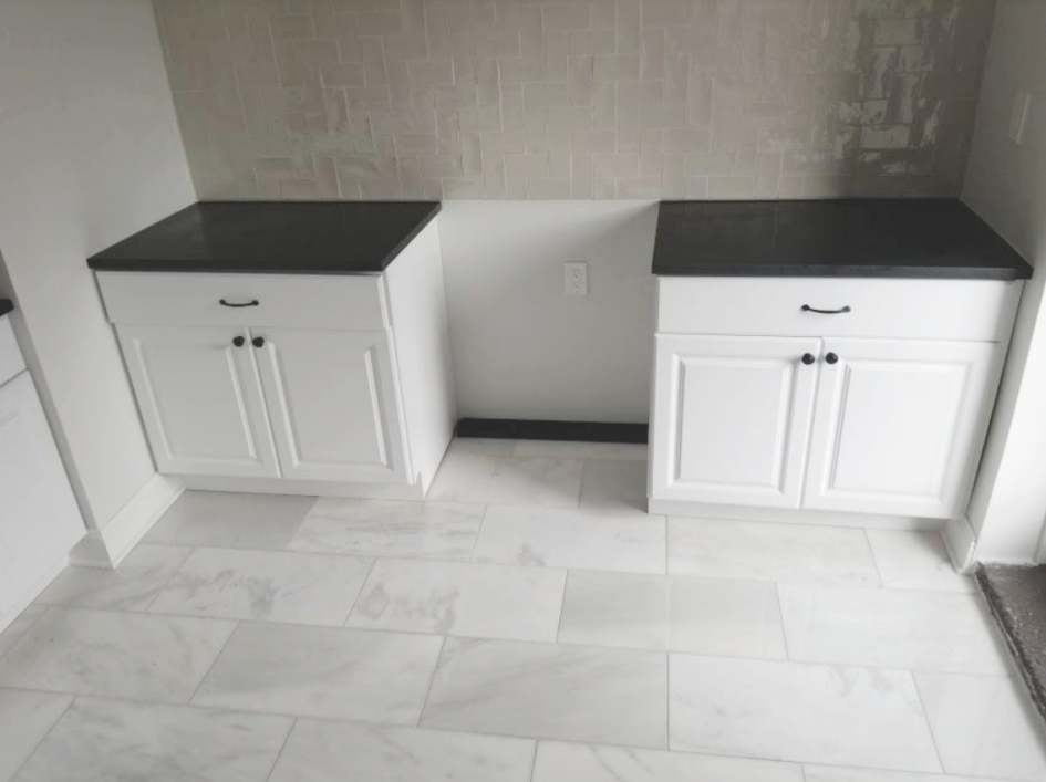 absolute black granite counters