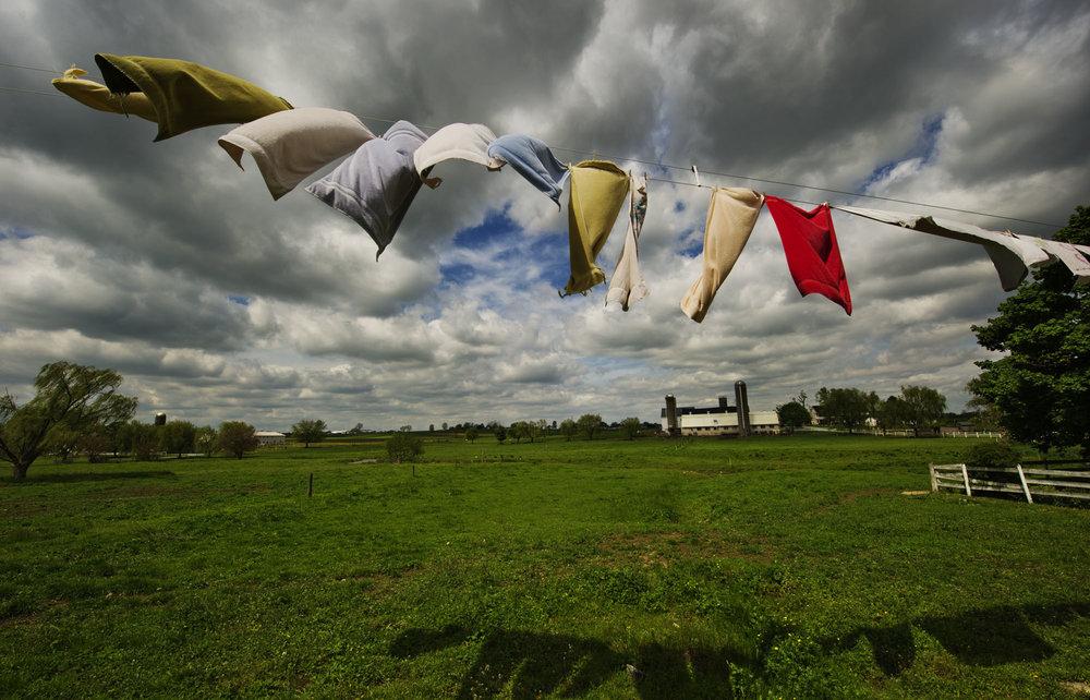 Clothes Line. Lancaster, PA.