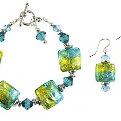 Andrea Menghetti venetian glass jewelry