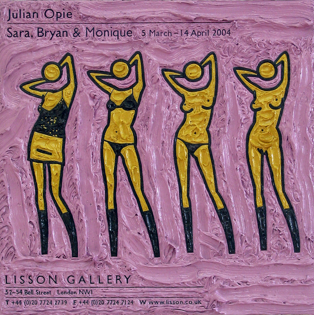 Julian Opie at Lisson