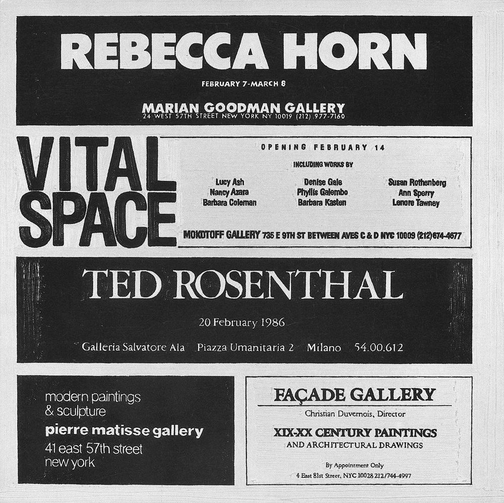 Rebecca Horn at Marian Goodman