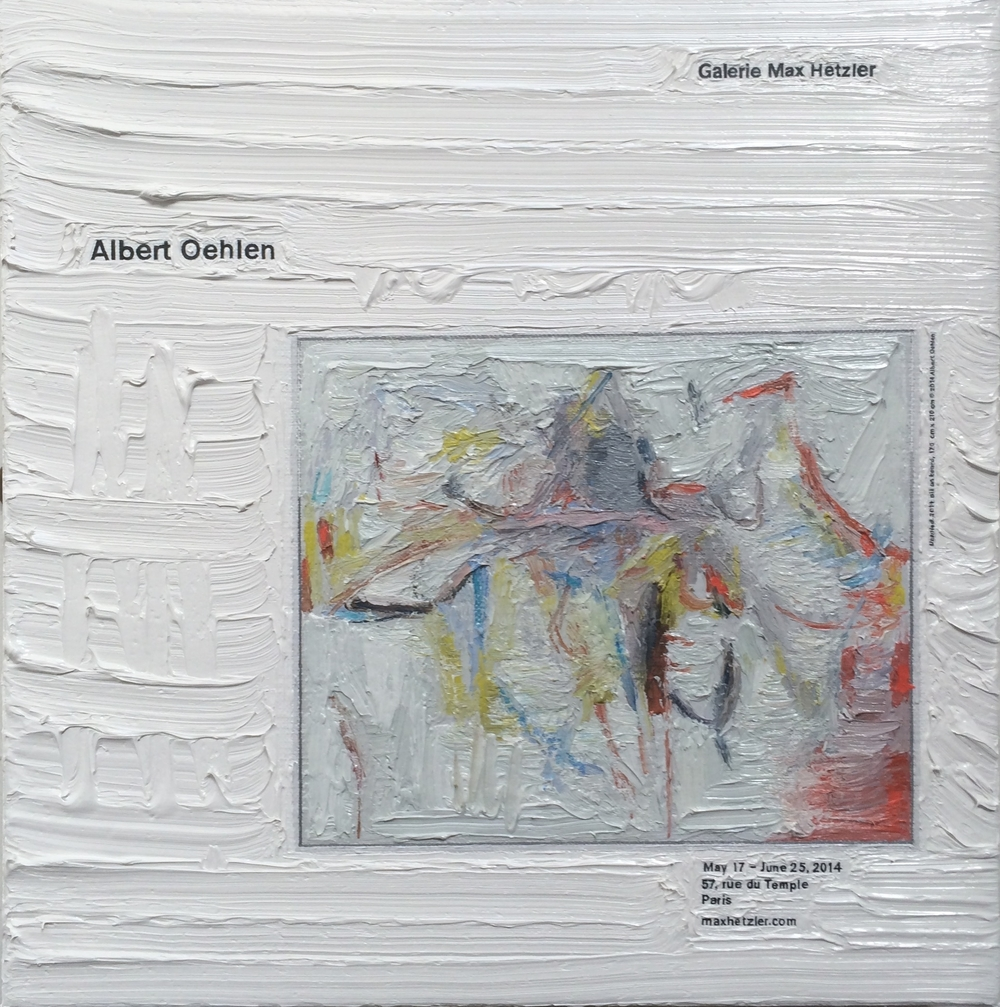 Albert Oehlen at Max Hetzler
