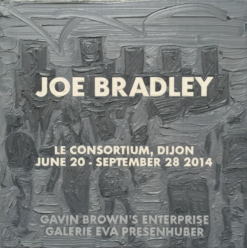 Joe Bradley at Le Consortium