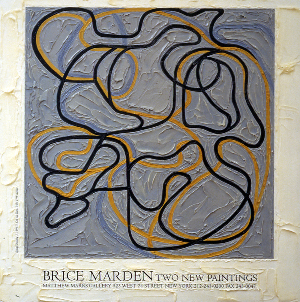 Brice Marden at Matthew Marks