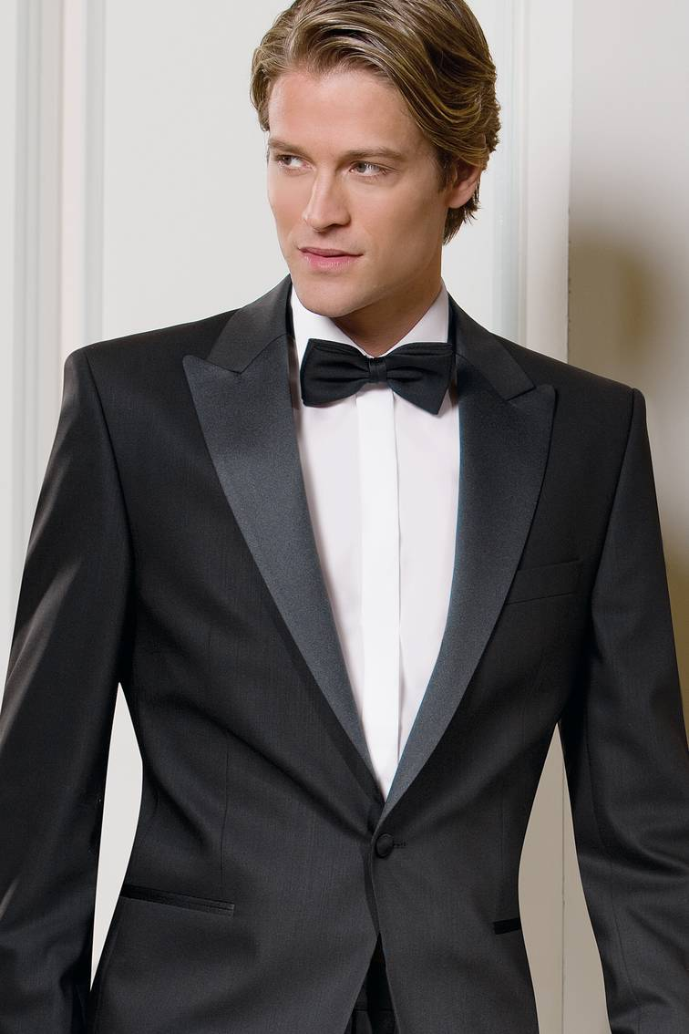 Slim-fit Lightweight Wool Peak Lapel Dinner Suit to buy £499