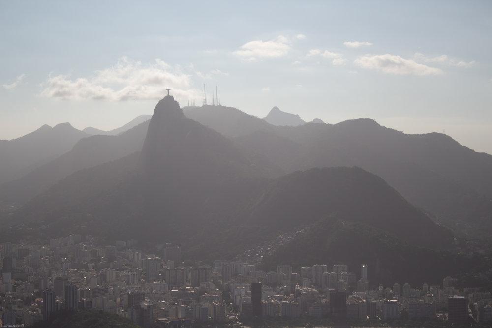 Innocent looking hills of Rio de Janeiro