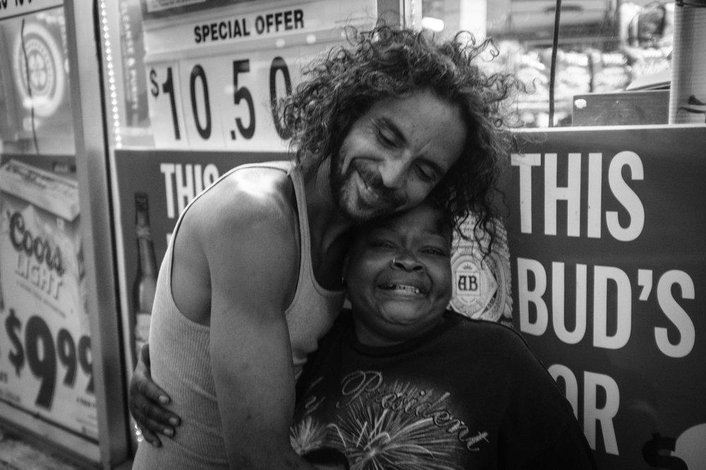 Jesus and Julia, Kingston, NY. 2017.
