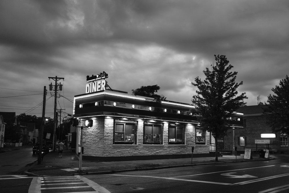 Diner, Kingston, NY. 2017.