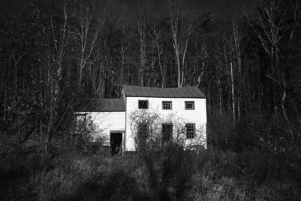 Abandoned house in the woods, West Hurley, NY.