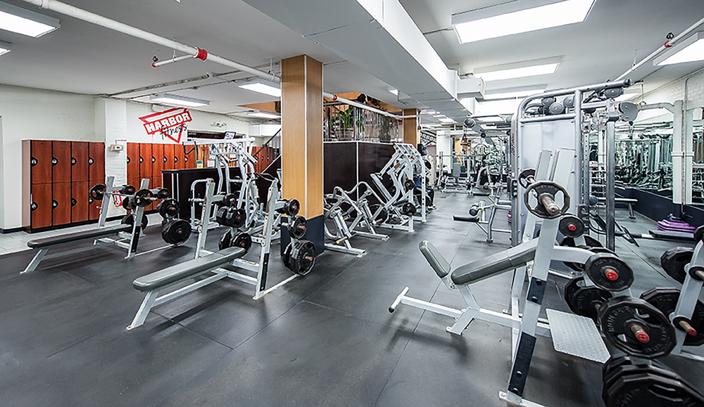 Harbor Fitness Park Slope Interior