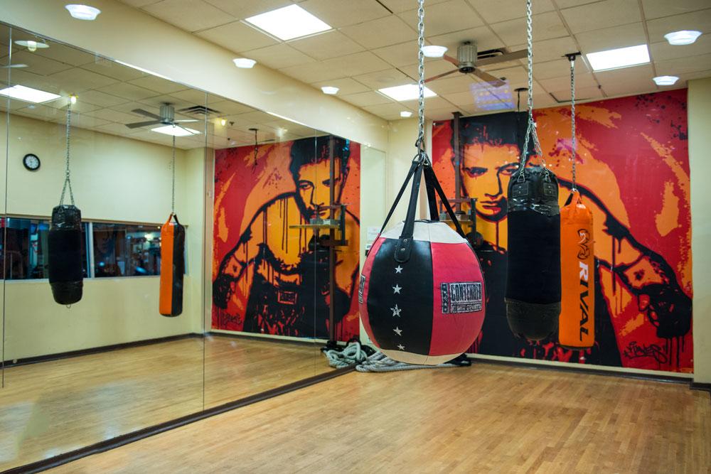 Harbor Fitness Mill Basin Boxing Room