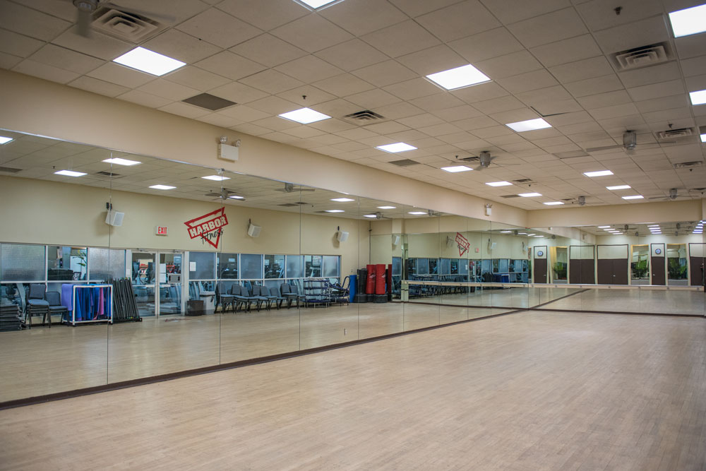 Harbor Fitness Mill Basin Group Fitness Room