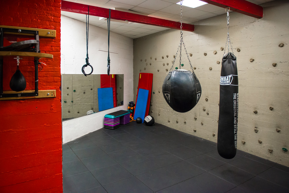 Harbor Fitness Marine Park Boxing Room