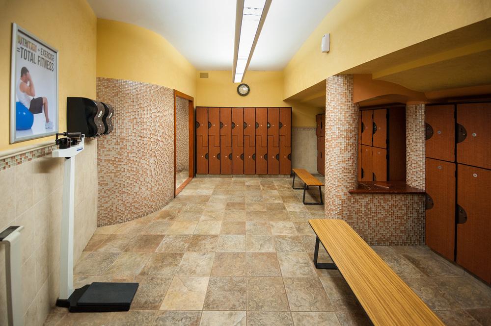 Harbor Fitness Marine Park Locker Room