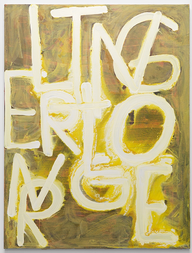 Linger Longer, 2017, acrylic on canvas, 50 x 38 inches