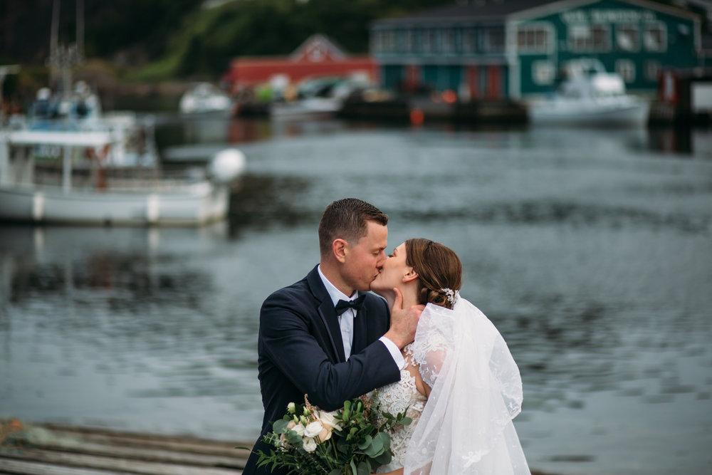 St Johns, Newfoundland Quidi Vidi Summer  Wedding