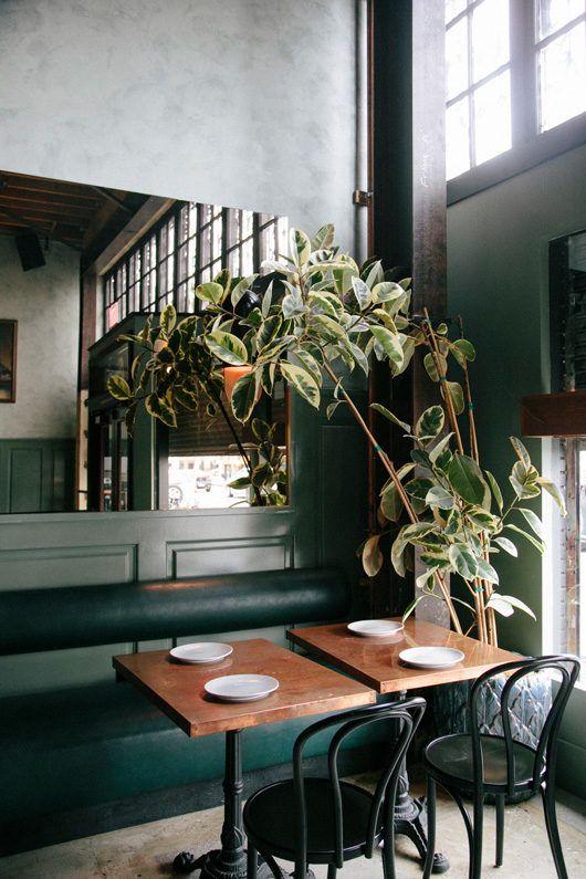 Obs! Bilden är på okänd restaurang via Pinterest