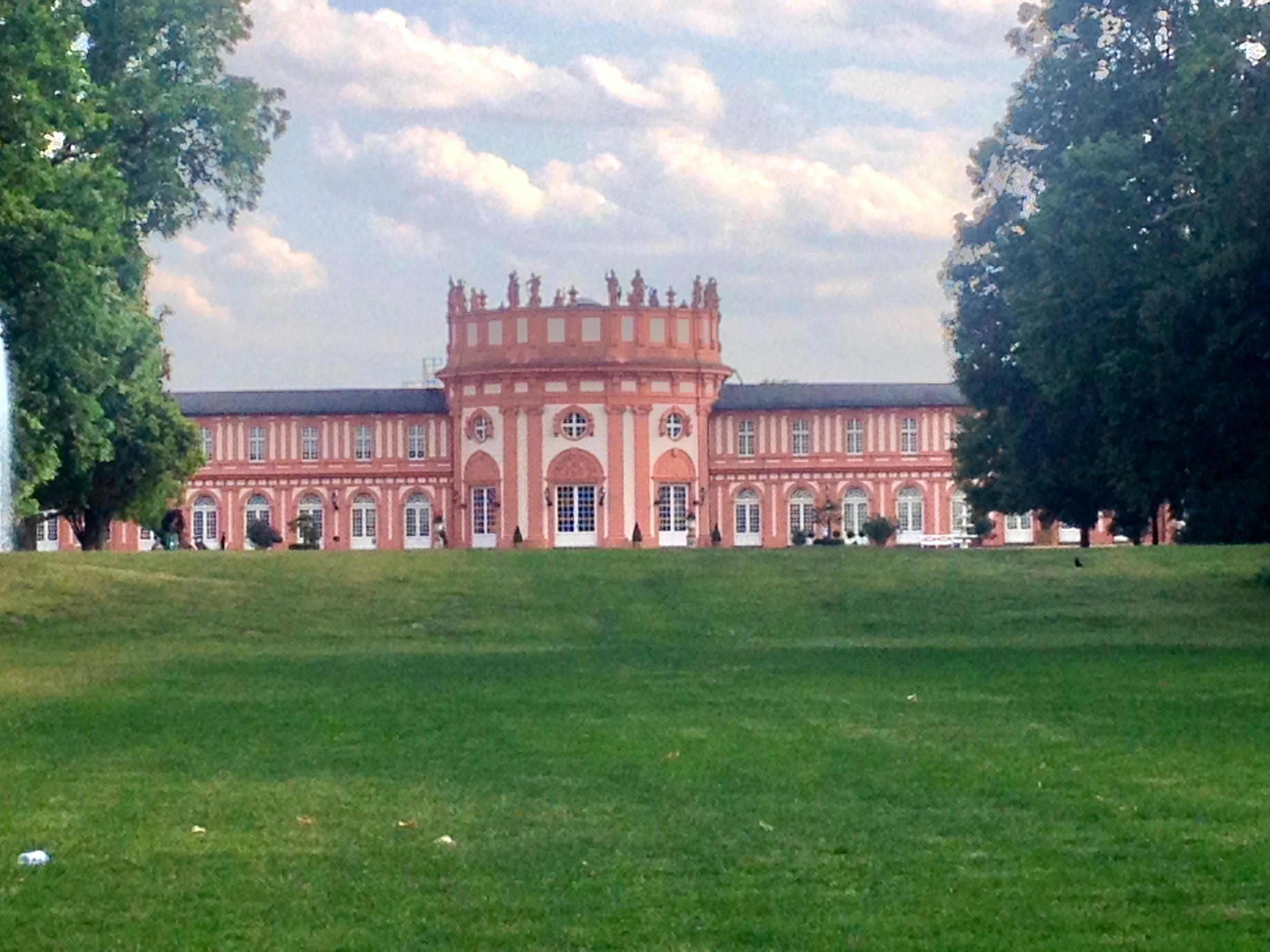 The Schloß (castle) in Wiesbaden