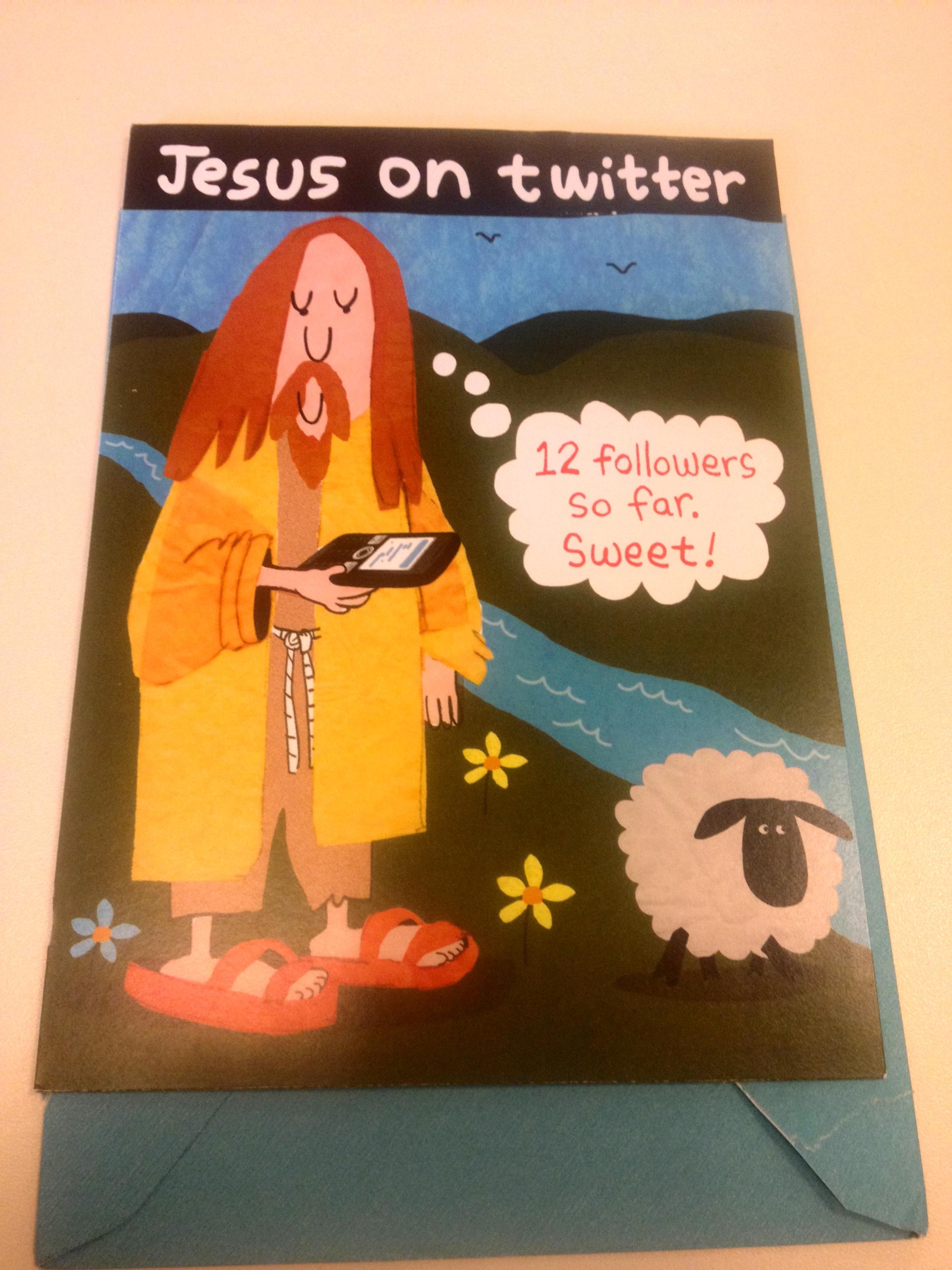 My birthday card.