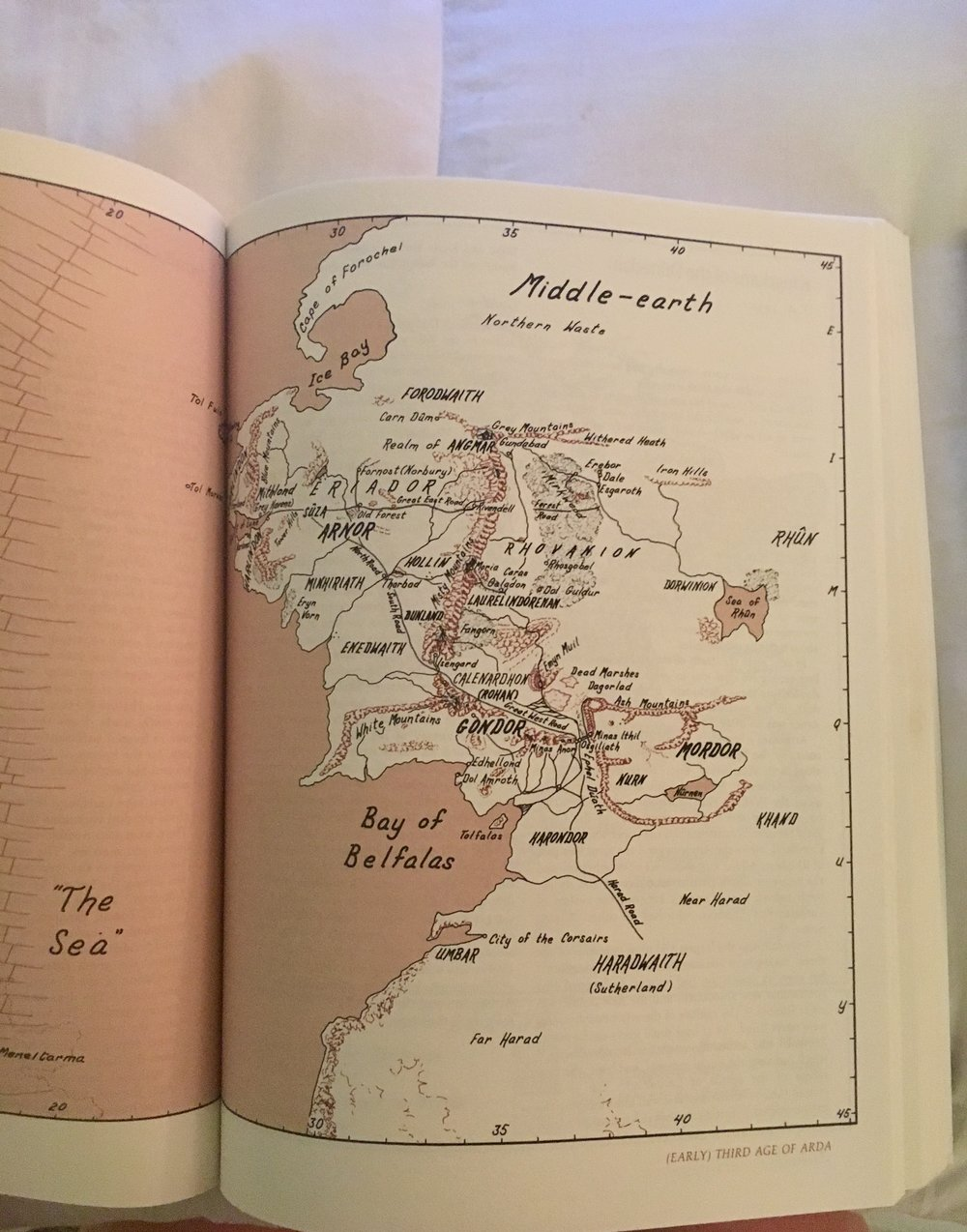 For one recent birthday, my friend George gave me an atlas of Middle-earth. He gets me.
