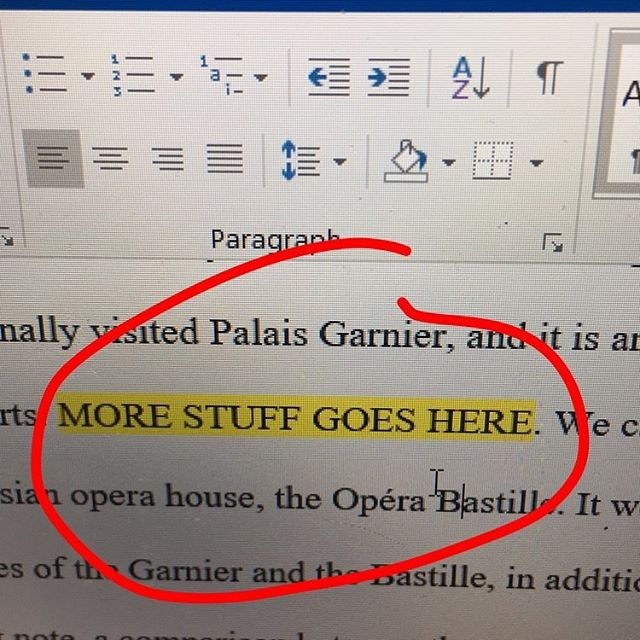 How to write papers. #SaraBGoesToGradSchool