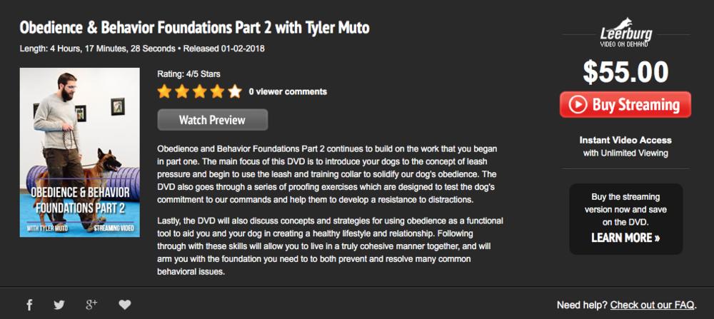 Obediência e fundação de comportamento Parte 2