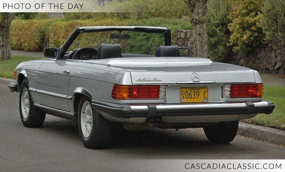 1980 Mercedes 450sl Cascadia Classic Portland Oregon