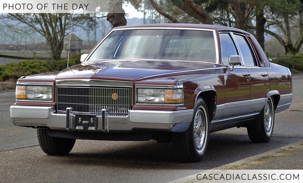 1990 Cadillac Brougham — Cascadia Clic - Portland Oregon