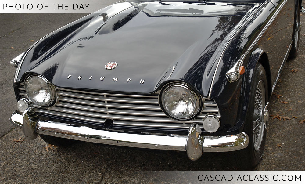 1967 Triumph TR4A — Cascadia Classic - Portland Oregon