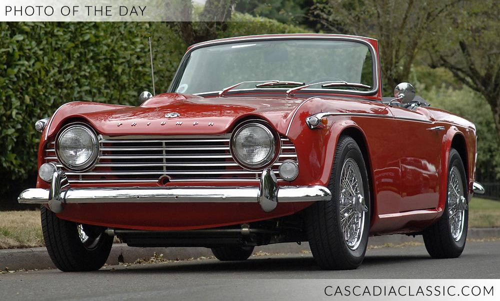 1965 Triumph TR4A — Cascadia Classic - Portland Oregon