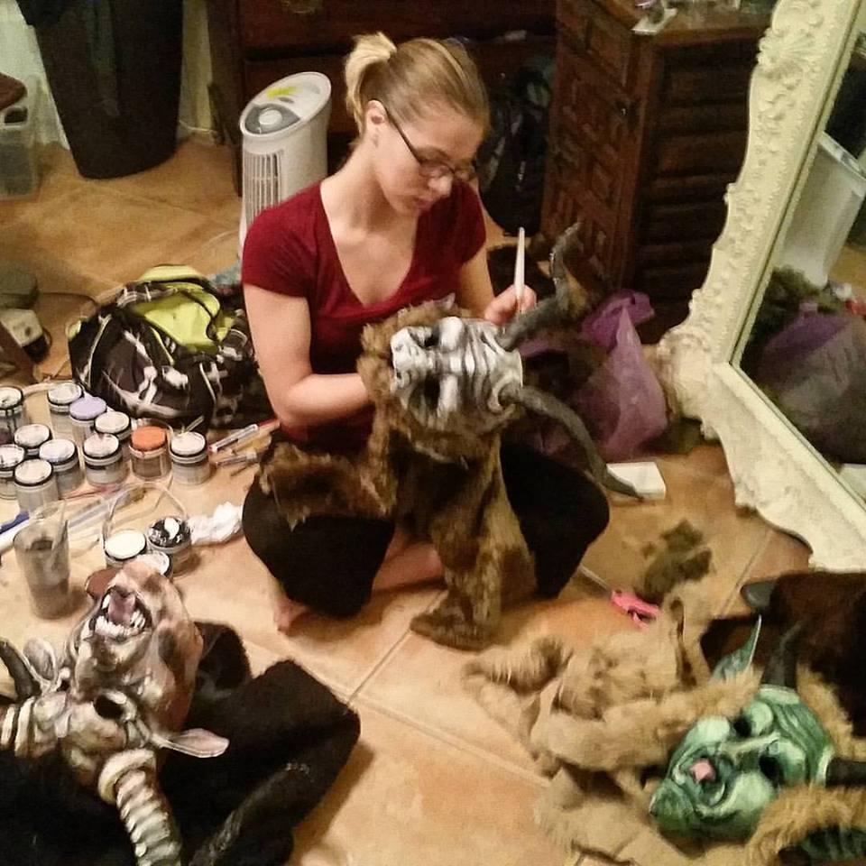 Emily working mache.jpg