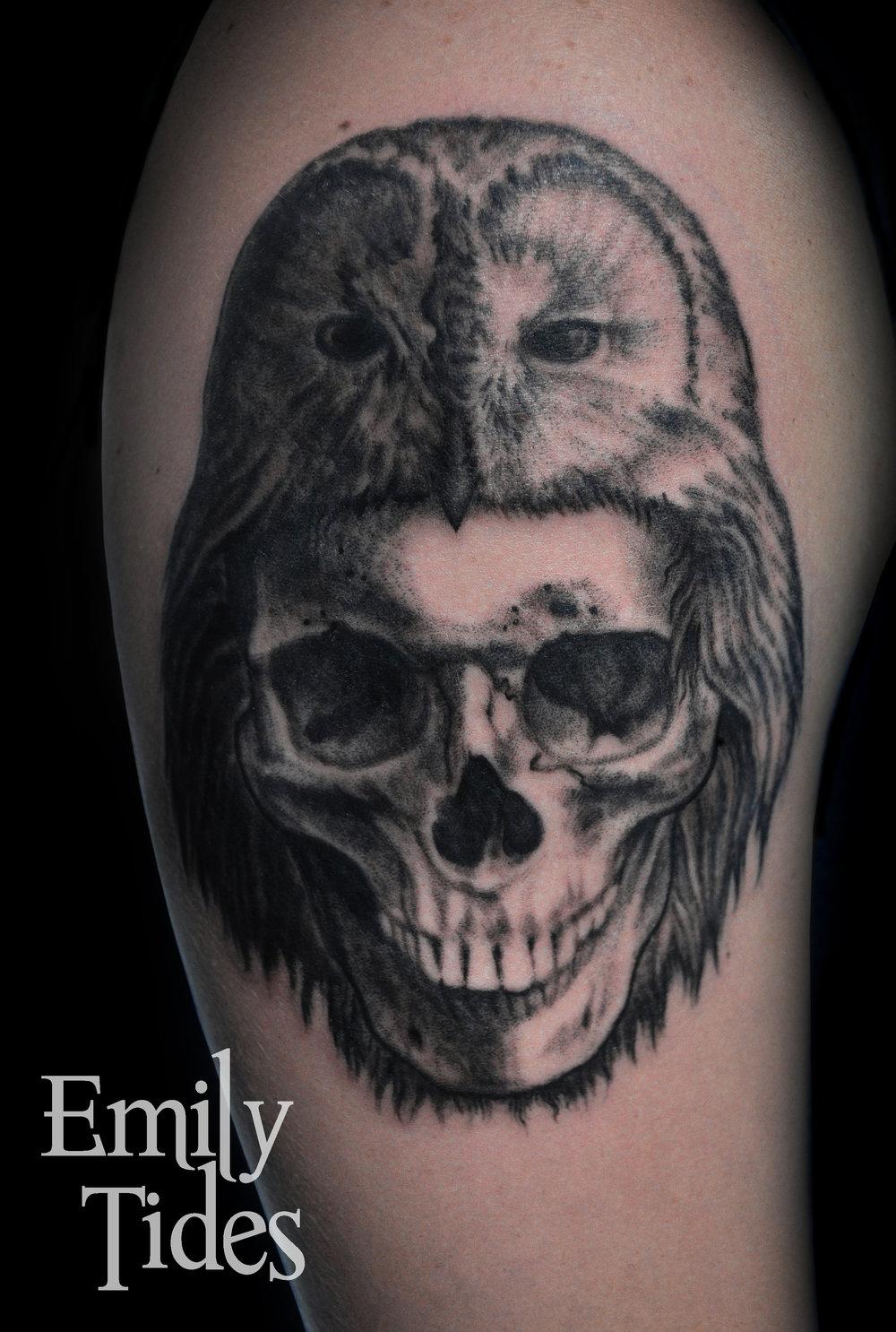 Owl Skull Tattoo  emily tides.jpg