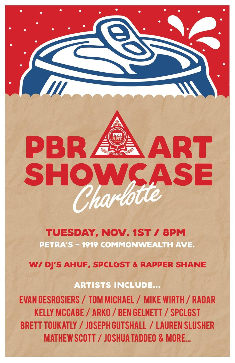 PLEASE COME CHECK OUT SOME AMAZING LOCAL ARTISTS THIS COMING TUESDAY!!