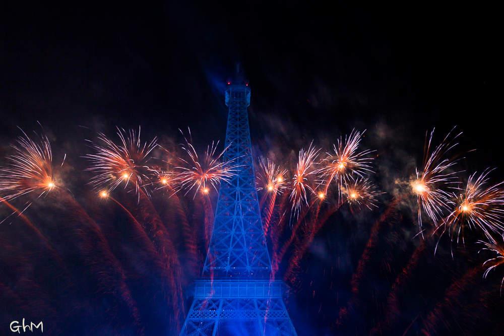Paris- Spectacle du 14 Juillet 2014