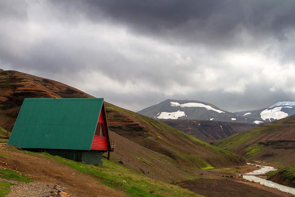 Islande-J10: Varmahlid- Kerlingarfjoll par la piste Klojur