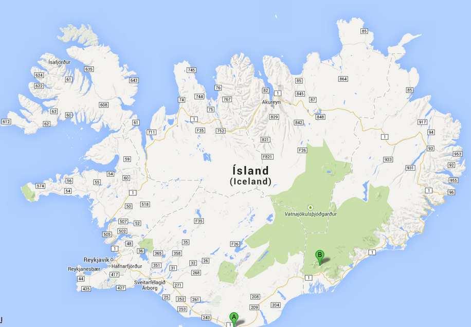 Islande-J4: Vik- Skaftafell