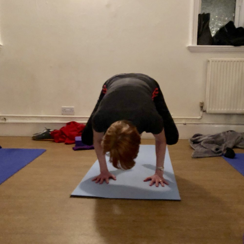 - Your body might one day feel entirely happy and comfortable to balance on your hands in Bakasana / Crow pose - it's always a favourite for a real sense of physical accomplishment and strength.