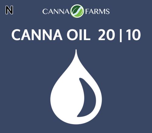 CANNA OIL 20 | 10 THC = 22.1 mg/mL |CBD =11.6 mg/mL 25 mL Bottles = $85 |50 mL Bottles = $160