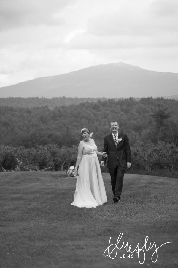 Holly and Ben's stunning wedding at  Monadnock Berries  in Troy, New Hampshire.