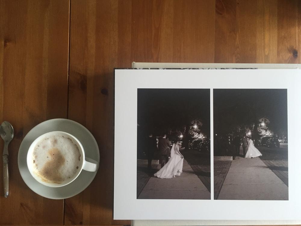 Bluefly Lens Wedding Album Layout