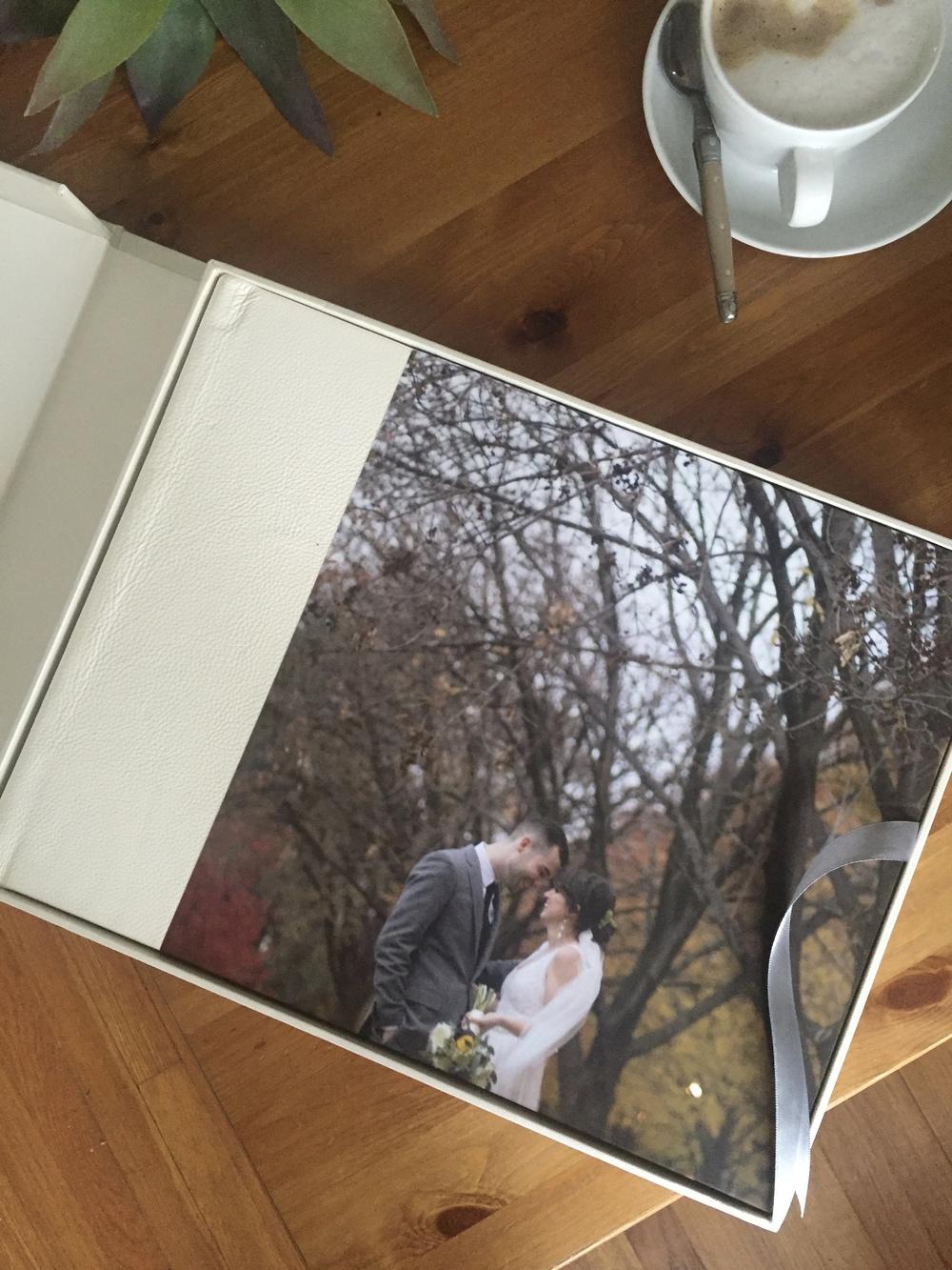 High Quality Wedding Album New England Worcester Wedding Photographers Bluefly Lens Photography