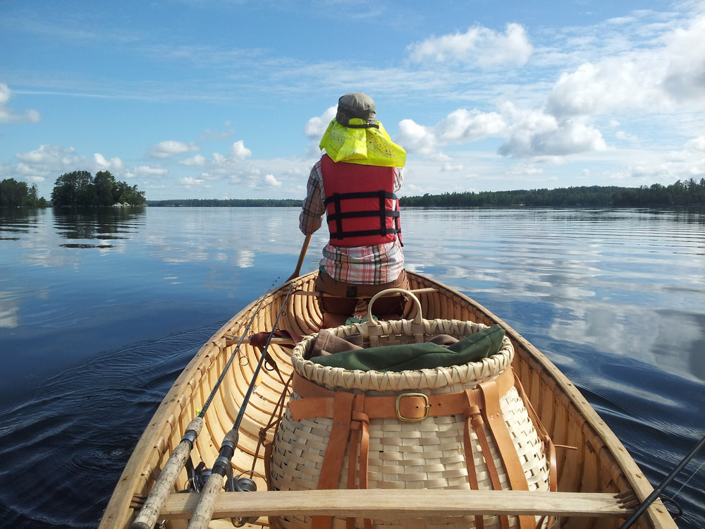 Birch Bark Canoe Tripping BWCA .