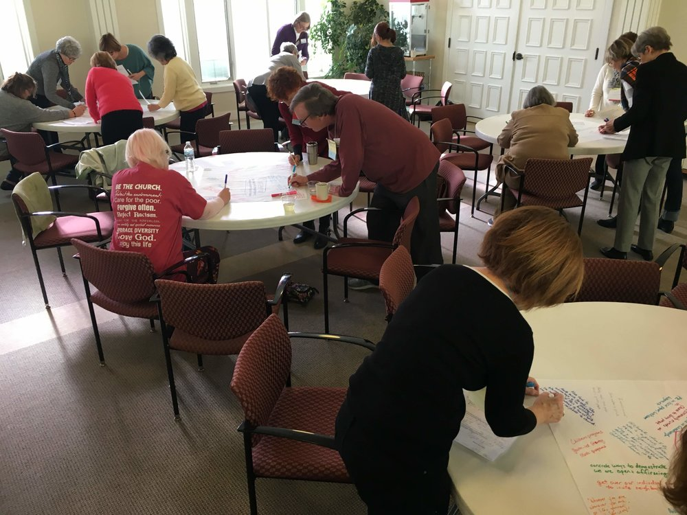 Church Planning in Action! - Join us Jan 27 as we share results of the brainstorming session.