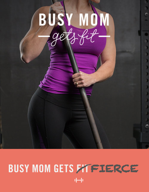 BMGFierce Advanced Plan: - You LOVE lifting weights, but you could really use a NEW PLAN to INSPIRE you to get to work at the gym or even at home! You don't want just any ol' workout.  You want a FIERCE workout! ...And you want a plan to tell you exactly what to do and when!With the Busy Mom Gets FIERCE Workout Plan, you have the flexibility you need as a FIERCE, but busy mom. Each exercise can be done at a gym or at home.  FIERCE Nutrition included.BUY NOW $67.99LEARN MORE