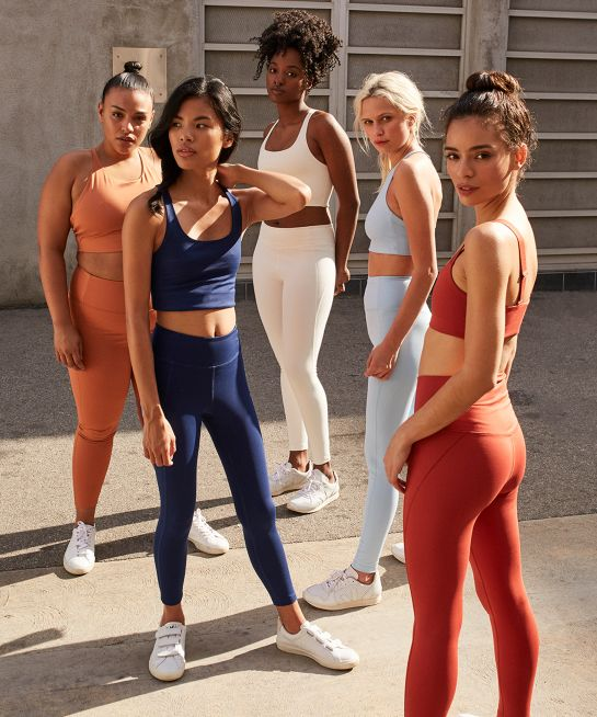 Girlfriend Collective - Your girlfriends always have your back. Minimalist active wear made with recycled plastic bottles and produced ethically in their factory in Taiwan.