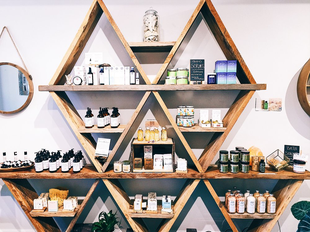 Wildcraft is anindependent boutique   - specializing in self-care rituals with an organic, artisanal focus. We opened our doors February 2016.