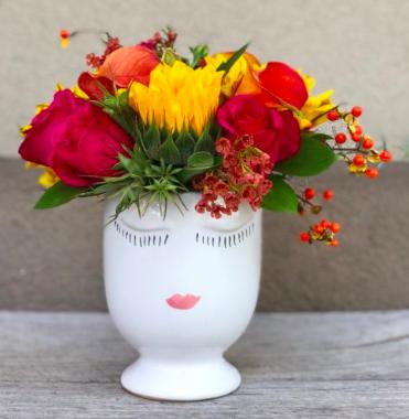 """""""Selfie Vase"""" from Charleston Flower Market (example shown)"""