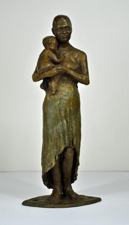 Maribel, Lost-Wax Bronze Casting