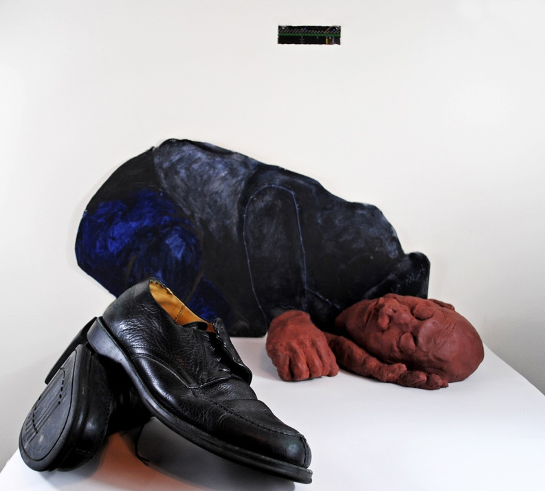 """SUBWAY SLEEPER (""""Ecce Homo"""")"""