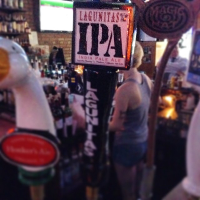 #IPA on draft #lagunitas #motherhubbards #chicago #sport #pub #beer